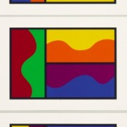 Colors Divided By Wavy Lines, 1999