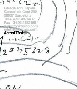 Antoni Tàpies - Obra recent