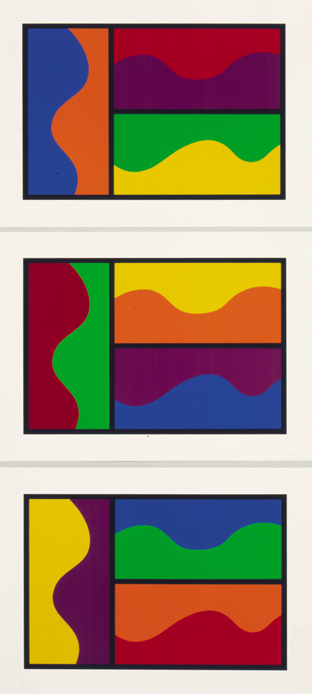 2.Colors divided by wavy line