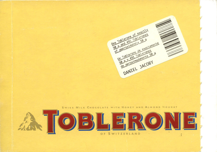 1.toblerone